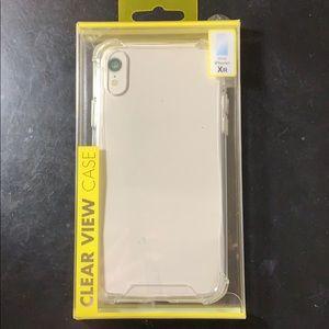 iPhone XR clear phone case